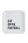 Eat Drink Football Paper Plates