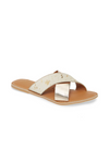 Crossover Gold Cowhair Sandals - Matisse