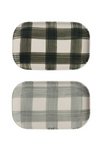 Buffalo Check Platter (2 colors available)