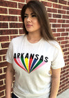 A Shine of Color Tee - Arkansas