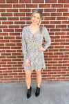spotted cinched dress - BB Dakota