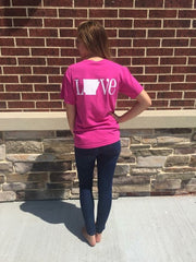 Pink Arkansas Spirit Tee
