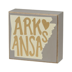 Arkansas Box Sign