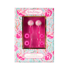 Ear Buds {Jellies Be Jammin} - Lilly Pulitzer