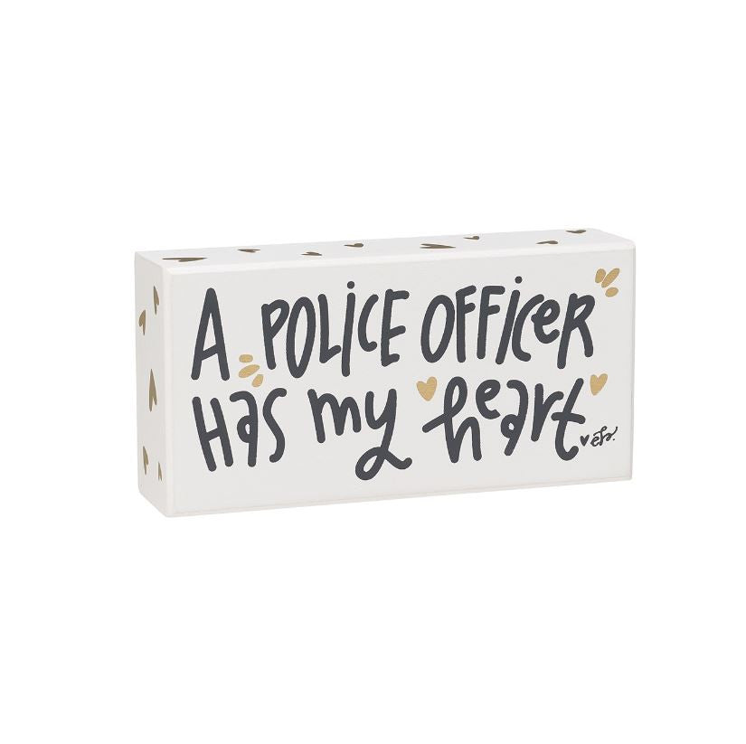 Police Officer Box Sign