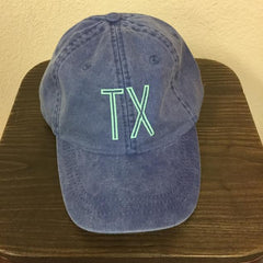 Blue Texas Hat