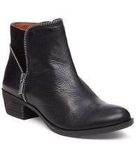 Black Boide Bootie By Lucky Brand