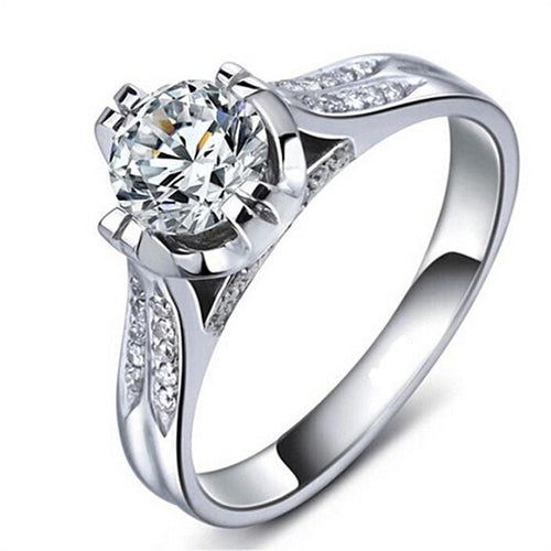 L5T0SMX9 Silver Plated CZ Ring