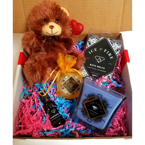 Teddy Bear Luxury Bath Melt Bundle