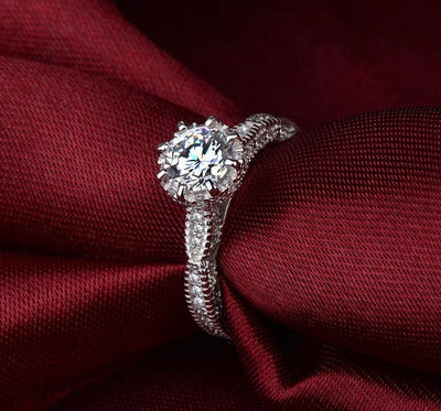 A2MET 925 Sterling Silver CZ Ring