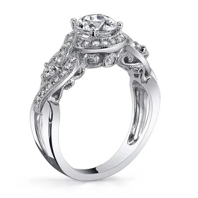 A37TT 925 Sterling Silver CZ Ring