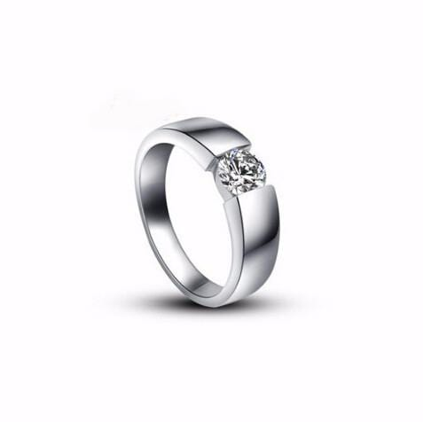AP2WFE7L 18k White Gold Plated Austrian CZ Ring