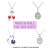 Sterling Necklace Bunch O Berries Soy Candle