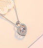 DGFT 925 Sterling Silver CZ Necklace