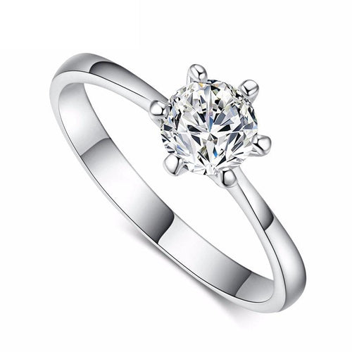 KVQOSUR4 925 Sterling Silver CZ Ring