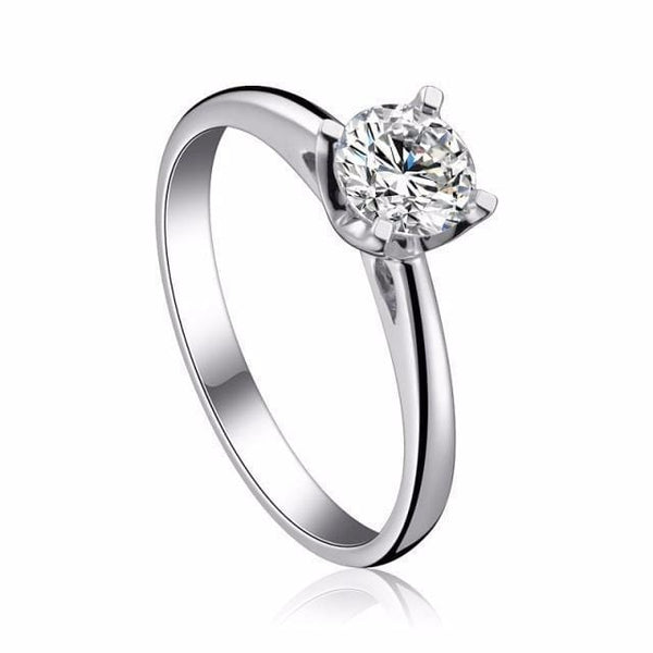 HNA2WX86 925 Sterling Silver CZ Ring