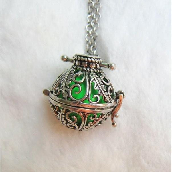 Harmony Ball Essential Oil Diffuser Necklace