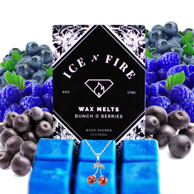 Sterling Necklace Bunch O Berries Wax Melt