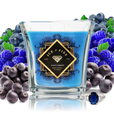 Bunch O Berries Sterling Ring Soy Candle