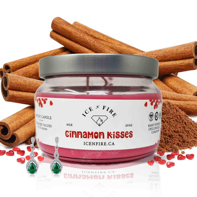 Cinnamon Kisses Classic Jewelry Soy Candle