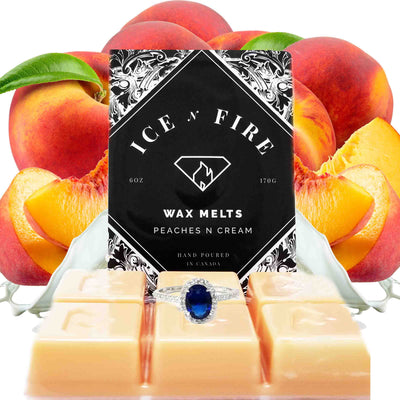 Peaches & Cream Ring Wax Melt