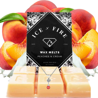 Sterling Necklace Peaches & Cream Wax Melt
