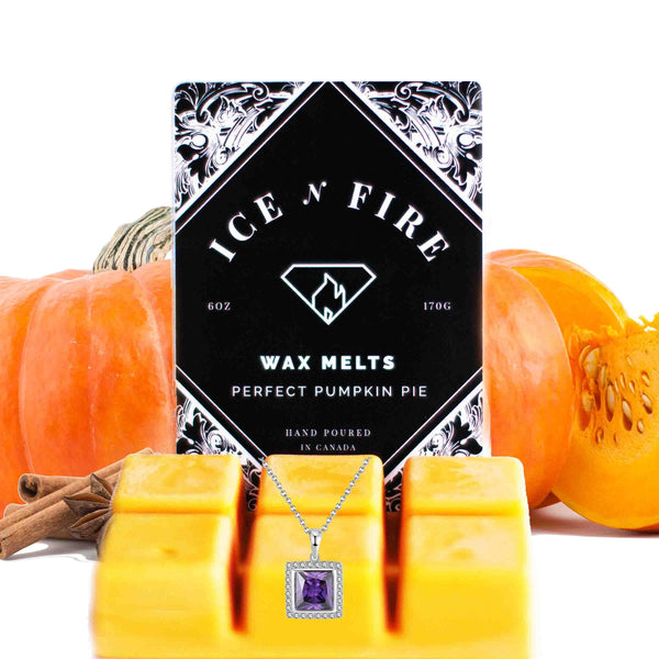 Sterling Necklace Perfect Pumpkin Pie Wax Melt