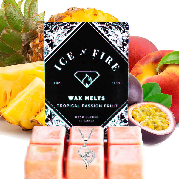 Sterling Necklace Tropical Passion Fruit Wax Melt