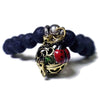 Lava Bead Charm Essential Oil Diffuser Bracelet Style 3