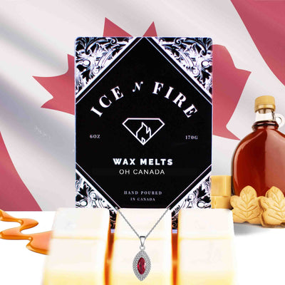 "Sterling Necklace Limited Edition ""Oh Canada"" Sweet Maple Wax Melt"