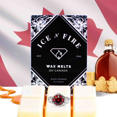 "Limited Edition ""Oh Canada"" Sweet Maple Ring Wax Melt"