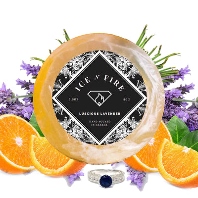 Luscious Lavender Aromatherapy Ring Soap