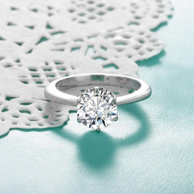 MKO8JMH6 925 Sterling Silver CZ Ring