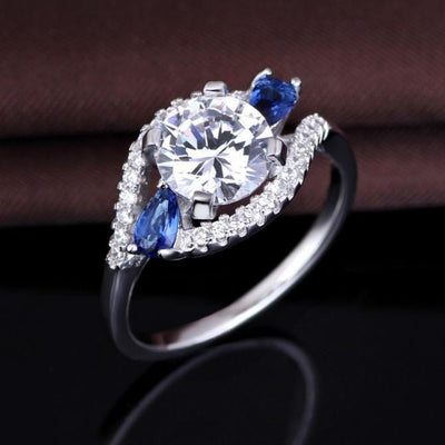 O7338D0Z 925 Sterling Silver AAA CZ Ring