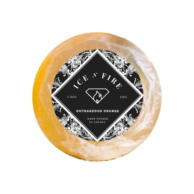 Outrageous Orange Aromatherapy Ring Soap