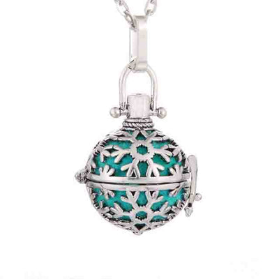 Pendant Locket Stainless Steel Clasp Essential Oil Diffuser Necklace