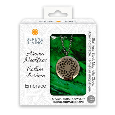 Serene Living Aromatherapy Necklace - Embrace