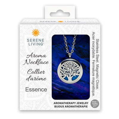 Serene Living Aromatherapy Necklace - Essence