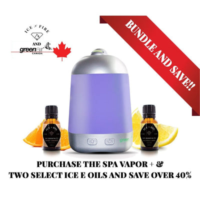 Spa Vapor Plus & Ice E Oil Ultimate Sale Bundle