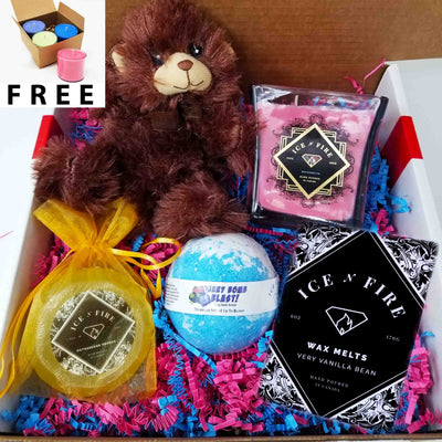 Teddy Bear Ultimate Bath Bomb GIFT Bundle