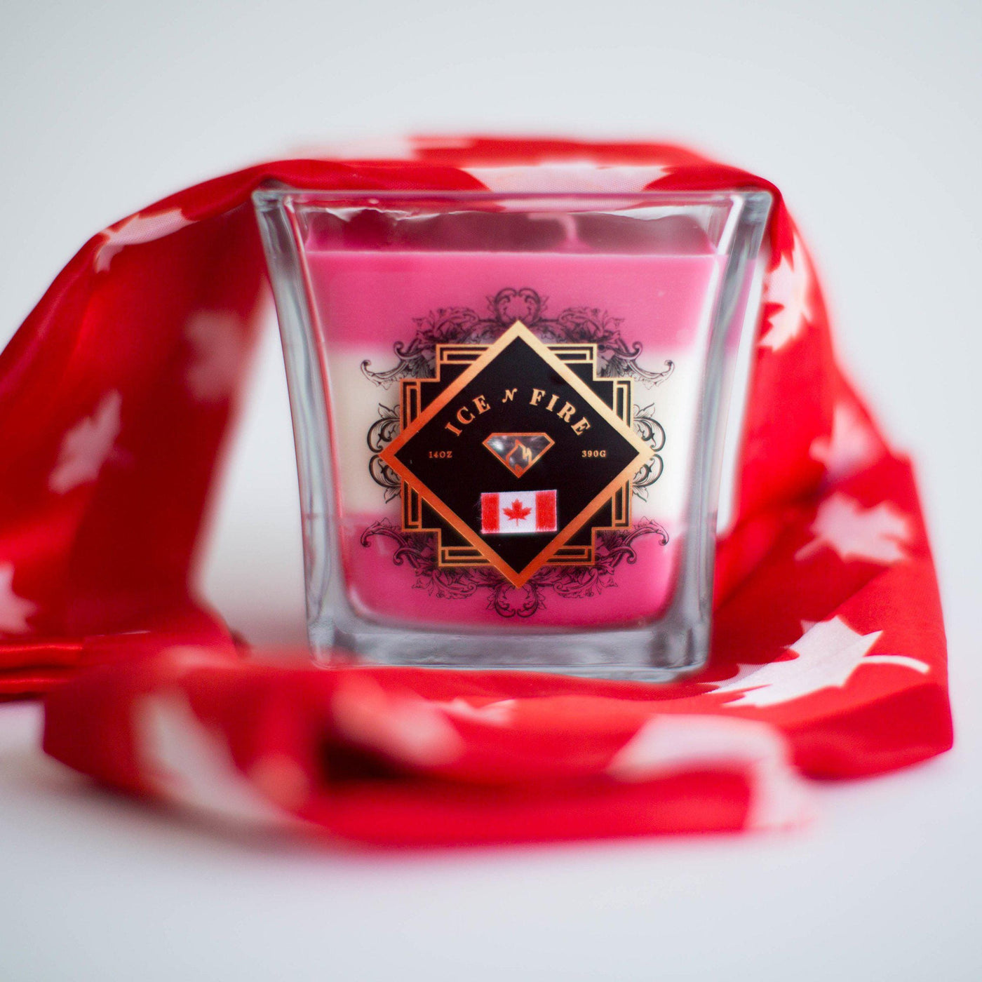 Limited Edition Canada Day Layered Ring Candle