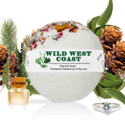 "Wild West Coast ""MONDO"" Jewelry Bath Bomb (Essential Oil Blend)"