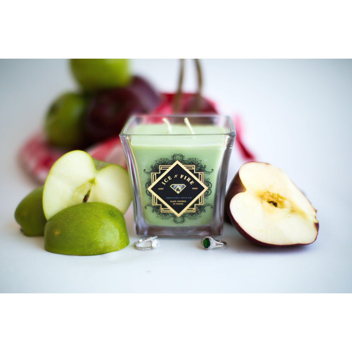 Absolutely Apple Pie Ring Candle-Candles-Ice 'N' Fire