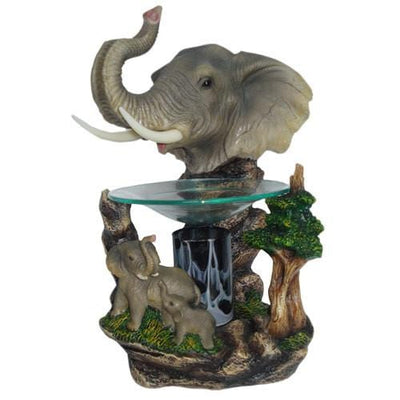 Elephant Oil Warmer-Polyresin Warmers-Ice 'N' Fire