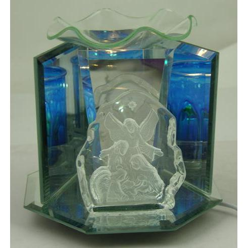Guardian Angel (Nativity) Glass Figurine Electric Oil Warmer EF-869-Glass Figurine Warmer-Ice 'N' Fire