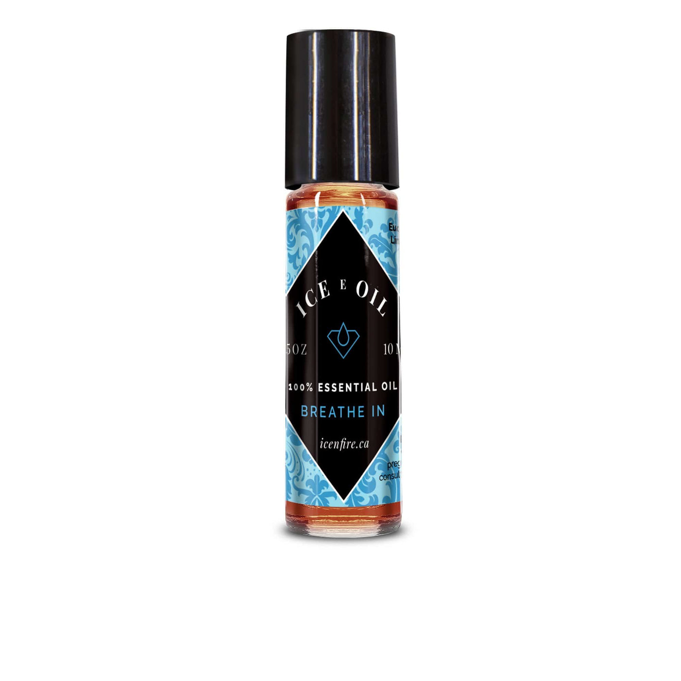 Ice E Oil Breathe In Blend Roll-on-Ice E Oil Essential Oil-Ice 'N' Fire