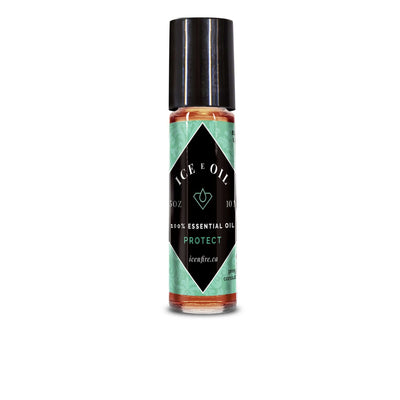Ice E Oil Protect Blend Roll-on-Ice E Oil Essential Oil-Ice 'N' Fire