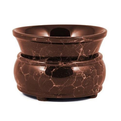 Marble Electric 2 in 1 Ceramic Candle and Tart Warmer-Ceramic Electric Warmers-Ice 'N' Fire