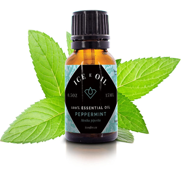 Peppermint Ice E Oil Pure Essential Oil-Ice E Oil Essential Oil-Ice 'N' Fire