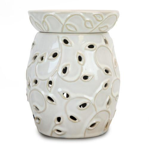 Tall Ivy Lamp Tart Warmer-Ceramic Electric Warmers-Ice 'N' Fire